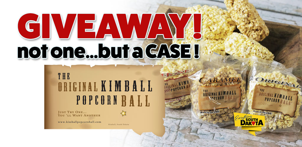The Original Kimball Popcorn Ball and Everything South Dakota Giveaway