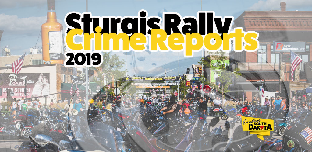 Sturgis Rally Crime and Accident Report 2019