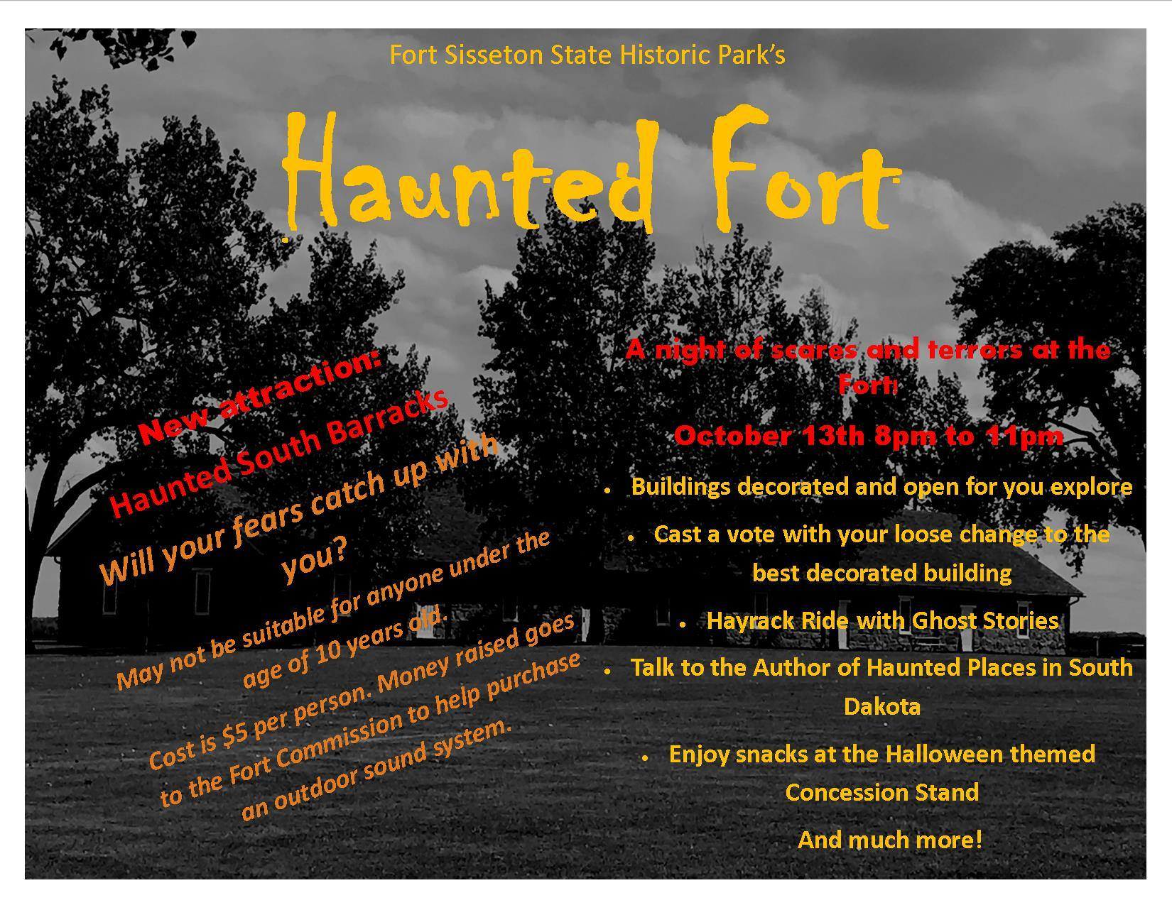 Haunted Fort, Fort Sisseton Historic State Park - Everything
