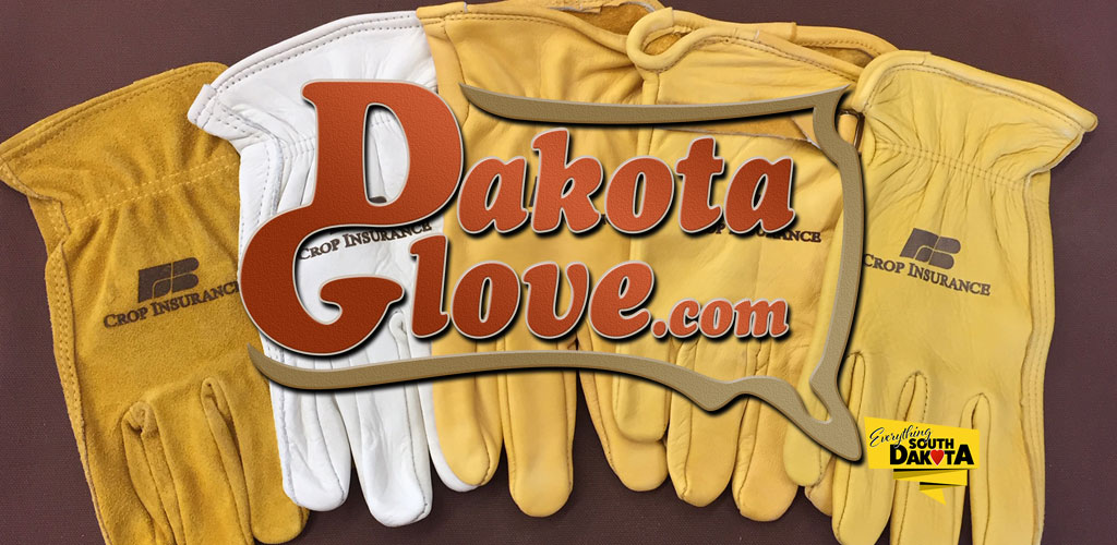 Customized gloves by Dakota Glove