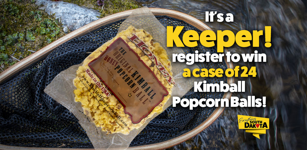 Register to win a case of 24 Kimball Popcorn Balls!