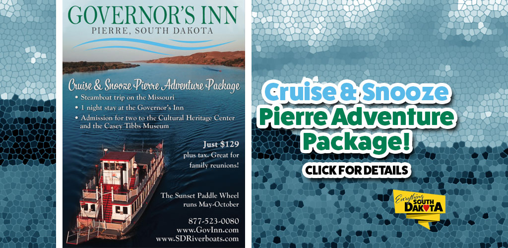 Cruise & Snooze Pierre Adventure Package