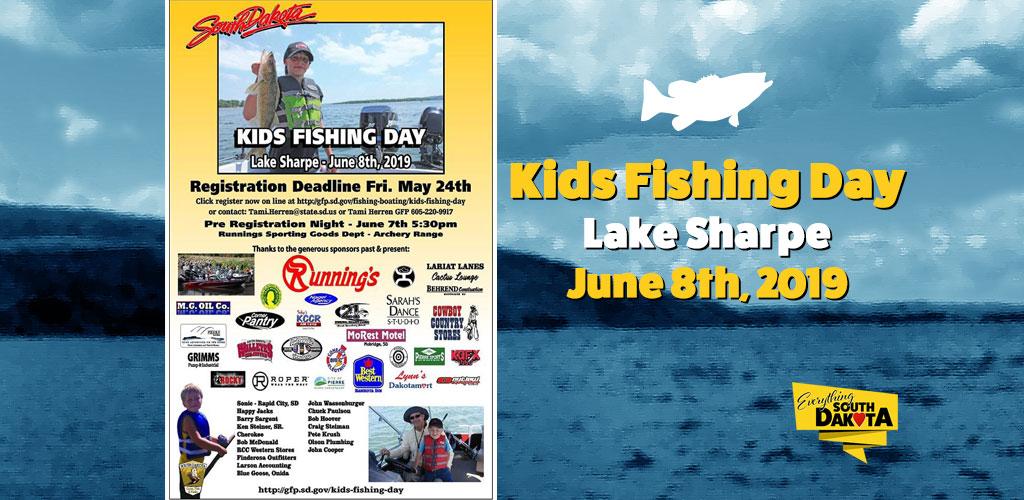 Kids Fishing Day on Lake Sharpe