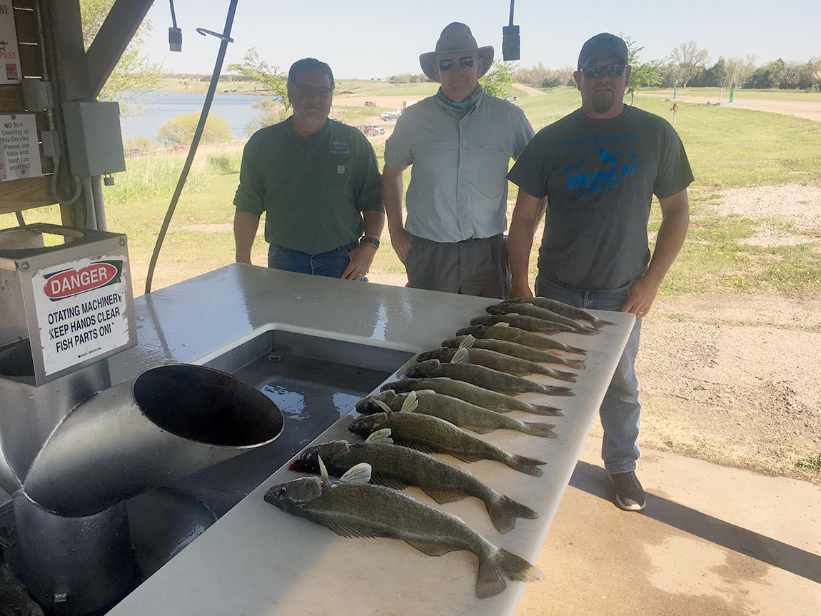 First Limit on Lake Oahe
