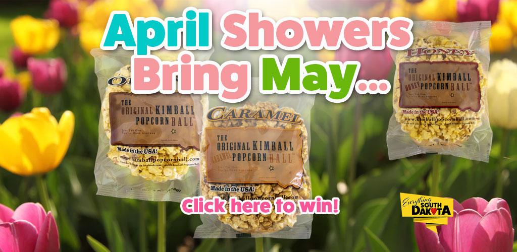 Kimball Popcorn Ball Giveaway for May 2019