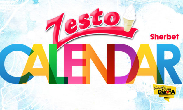 Zesto Sherbet Calendar for June
