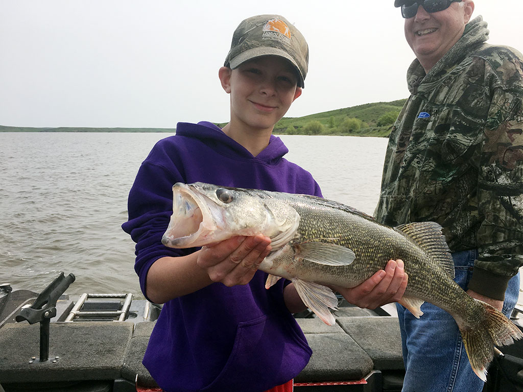 Happy Young Angler!