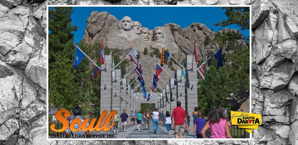 Construction starting at Mount Rushmore National Memorial