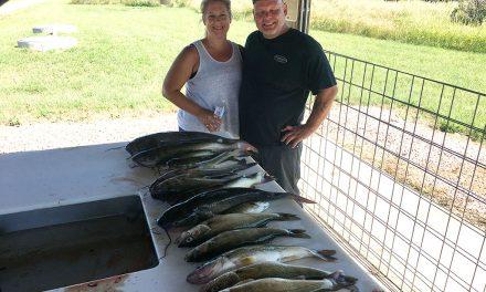 Walleye and Catfish Bite on Lake Oahe