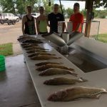 FISHING REPORT LAKES OAHE/SHARPE PIERRE AREA FOR AUGUST 7TH TO THE 11TH 2019