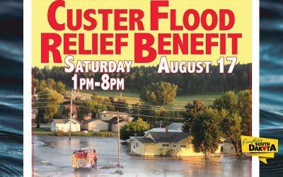 Custer Flood Relief Benefit Concert & Dinner