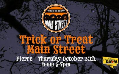 Trick or Treat Main Street Pierre