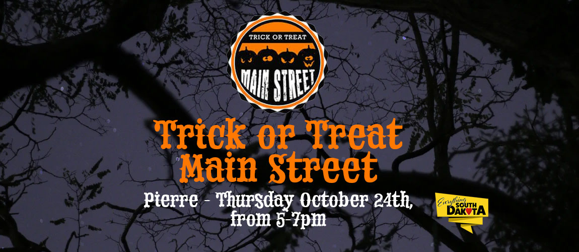 Trick or Treat Main Street Pierre