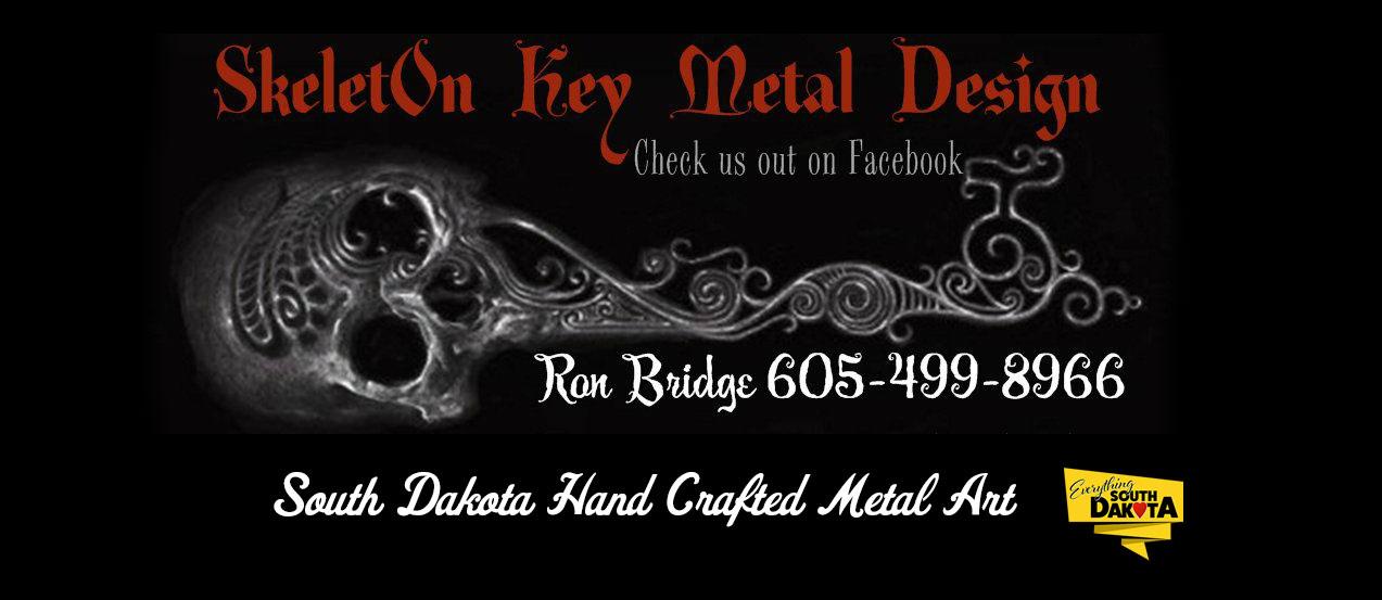 Skeleton Key Metal Design