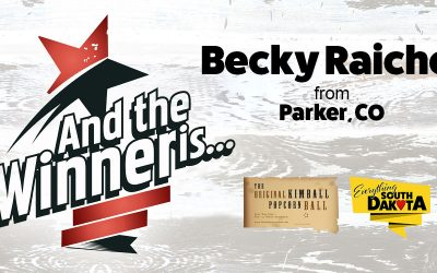 Becky Raichel from Parker, CO is our March Kimball Popcorn Ball Winner!