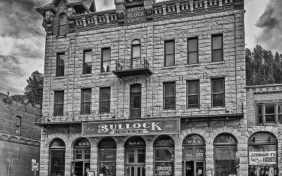 Haunted Bullock Hotel in Deadwood