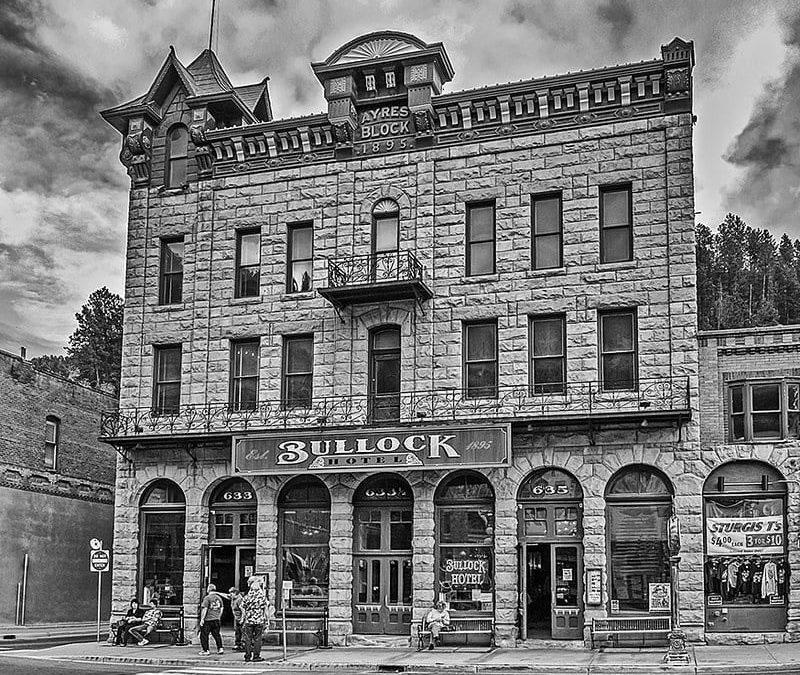 Haunted Bullock Hotel in Deadwood
