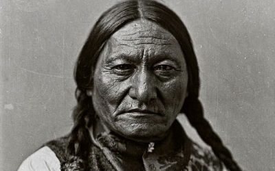 Chief Sitting Bull Surrenders