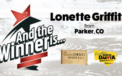 Lonette from Parker, CO is our March Kimball Popcorn Ball Winner!