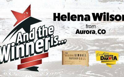 Helena Wilson from Aurora, CO is our May Kimball Popcorn Ball Winner!