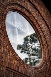 church-window-reflection