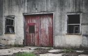 old-building-door